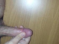 I masturbate my cock