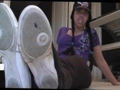 gym feet pov