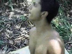 Outdoor Ass Fucking And Cumshots