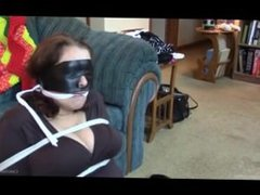 Bound and Gagged and Blindfolded