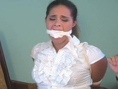 Sofia Fontaine Bound and Gagged