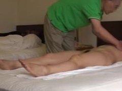Orgasmic Massage Hidden Cam - Masaje Orgasmico camara oculta