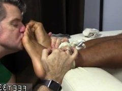 Gay sexy boys feet legs movie Mikey Tied Up & Worshiped