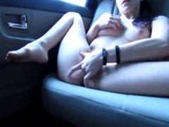 I love to masturbate in car