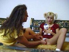 Petite Blonde Anal Teen