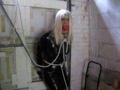PatsyPVC Shiny Fetish PVC Bondage Slut