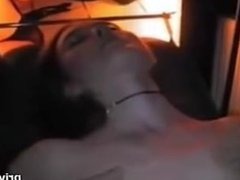 Amateur Girlfriend slut gangbang creampie and facial straners club