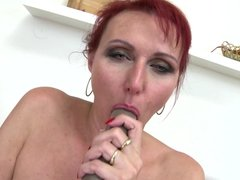 Sex bomb mature mother needs a good fuck