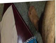 Cum on a couple of my gf panties