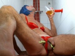 olibrius71 piss drink and red dildo