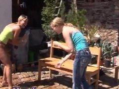 Danny d blonde teen anal Kate & Tanya in the sun