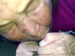 granny sucks bbc