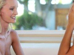 Teen Lesbians Sammie Daniels And Marina Angel