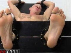 Penis size boy gay porn Cristian Tickled In The Tickle Chair