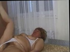 GRANNY AWARD 3 mature bbw with a young man Fat pussy ®