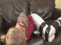 wrap gagged barefoot 3