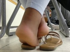 HS Friend's Candid Ebony Soles in Class 5