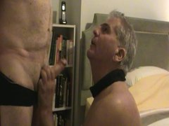 sucking a thick cock.