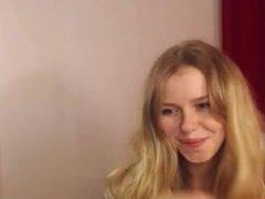 AT WWW.CAM456.COM Sweet Blode Teen Dancing in Webcam Soft, Porn f6