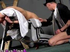 Male bondage teasing and gay boy movie bondage Reece Gets Anally d