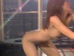AT WWW.CAM456.COM Thai Bar Girl Performs Pole Dancing