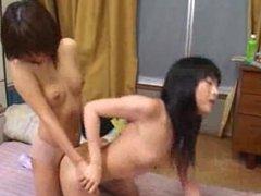 AT WWW.CAM456.COM Futanari and Girl 14: Free Asian Porn Video 9b