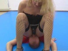 Dominant Blonde Total Humiliation