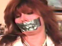 Tori Sinclair bound and gagged