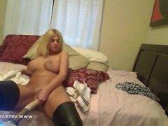 AT WWW.CAM456.COM Busty Brooklyn Bailey Live Sex Machine Cam: Free Porn c3