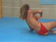 Female Ring Wrestling - GG K v E