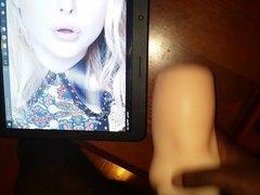 Chloe Moretz Cum Tribute + Sex Toy FUCK ACTION!