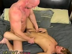 Hot sex in young man and old man gay
