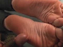 Cuming on wrinkled soles