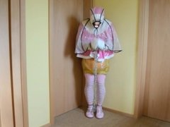 Adult Sissy Baby tied and gagged