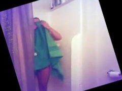 Teen Shower Hidden Cam - Fixed Video