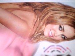Miley Cyrus Cum Tribute