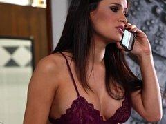 Lesbians Vanessa Veracruz And Kendra Lust