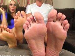 Alpha Couple Foot Cuckold Humiliation