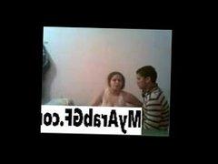 Chubby Arab girl fucked by boyfriend