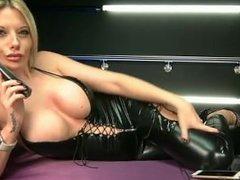 Emma C in black