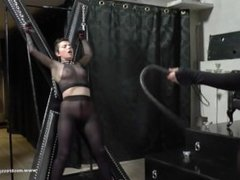 Dominating and Humiliating Her Slave