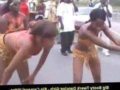 Big Booty Twerk Dancing Girls - Rio Carnaval Video