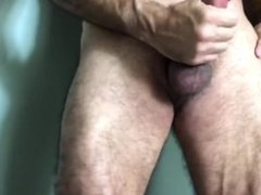Hairy Bear Jacking Off 2