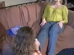 lesbian sock foot worship sniffing