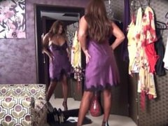 Modelling Secrets In Lace Lingerie - more at hotnudegirlz_com