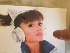 Ariana Grande cum tribute 9