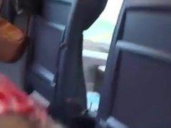Girlfriend Sucks and Swallows on a Train! - more at hotnudegirlz_com