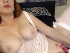 Big Titty Red Head on HotRealCams.com