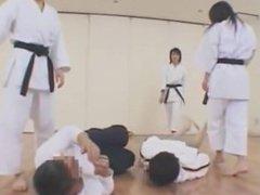 3 Japanese karate women