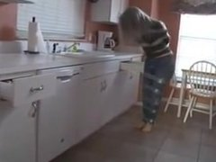 Sandra Silvers Bound and Gagged in Duct Tape